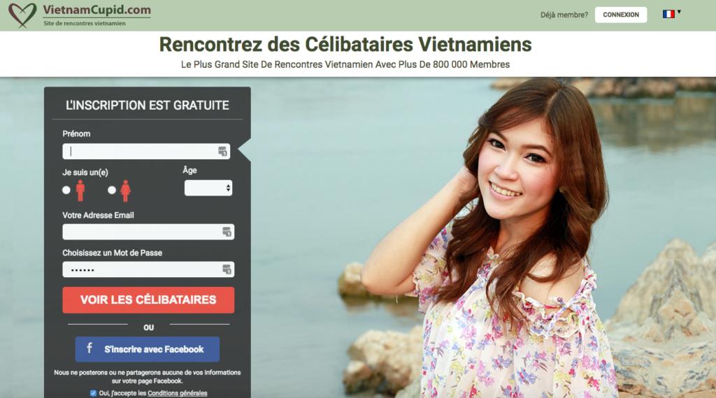 site Web de rencontres asiatiques en ligne